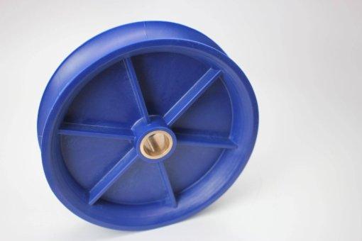 drive idler wheel with 2 inch bushing
